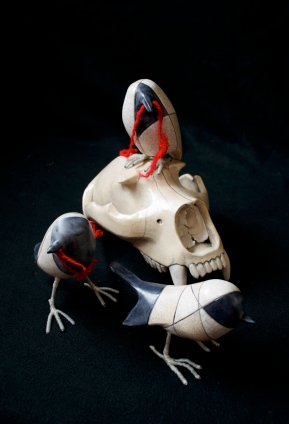 Cannupa Hanska.Bear Skull1